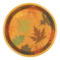 Turning Leaves Dessert Plates (8/pkg)