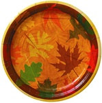 Turning Leaves Luncheon Plates (8/pkg)
