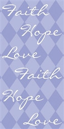 Faith Hope Love Swankie Hankies