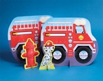 Fire Truck Centerpiece