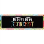 Happy Retirement Giant Banner