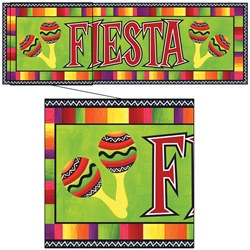 Fiesta Giant Party Banner