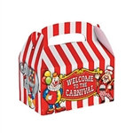 Big Top Treat Boxes (12/pkg)