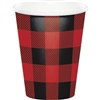 Whether you want a hot cup of cocoa or a refreshing cup of fruit punch, our Buffalo Plaid Hot/Cold Cups are perfect for your occasion. The red and black design gives it plenty of appeal, Each cup holds nine ounces of hot or cold liquid. Eight per package.