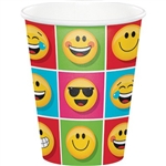 The Emojions Hot/Cold Cups feature a multitude of those fun, quirky little Emojion characters printed on these 9 ounce cups. Brightly colored, and sure to bring an smile to everybody's face. Eight cups per package. Matching accessories available.