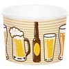 The Beer Treat Cups are perfectly sized to hold pretzels, popcorn, and nuts. Printed with images of beer mugs, beer glasses, and beer bottles, they are perfect for beer tastings and Oktoberfest events. Each cup holds 9 ounces. 6 cups per package.