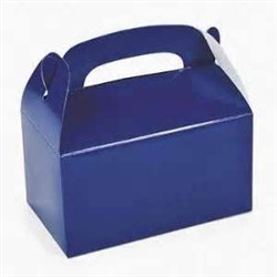 Blue Treat Boxes (12/pkg)