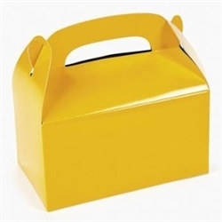 Yellow Treat Boxes (12/pkg)