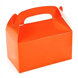 Orange Treat Boxes (12/pkg)