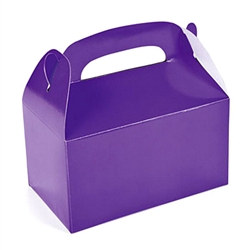 Purple Treat Boxes (12/pkg)