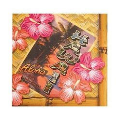 Hawaii Beverage Napkins (16/pkg)