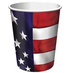 US Pride Hot/Cold Cups (8/pkg)