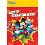 Mickey Mouse Party Loot Bags (8/pkg)