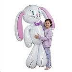 Inflatable Bunny, 62 inches