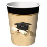 Sophisticated Grad Hot/Cold Cups (8/pkg)