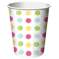 Cupcake Hot/Cold Cups (8/pkg)