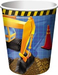 Under Construction Hot/Cold Cups (8/pkg)