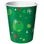 Polka Dot Christmas Hot/Cold Cups
