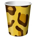 Leopard Print Hot/Cold Cups (8/pkg)