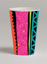 Caliente Fiesta Hot/Cold Cups (8/pkg)