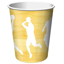 Basketball Party Hot/Cold Cups