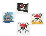 Pirate Tattoos (36/pkg)