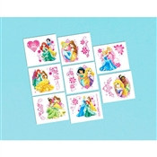 Disney Princesses Tattoos (16/pkg)