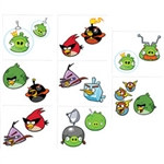 Angry Birds Tattoos (16/pkg)