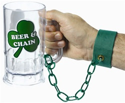 St. Patrick's Day Beer & Chain
