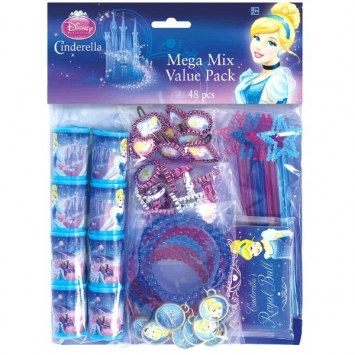 Cinderella Mix Value Party Favors