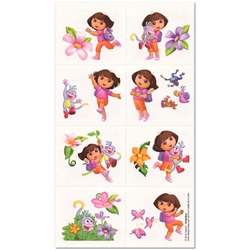 Dora the Explorer Tattoos (16/pkg)