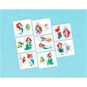 Little Mermaid Tattoos (16/pkg)