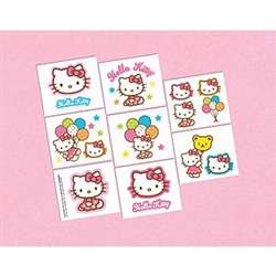 Hello Kitty Tattoos (16/pkg)