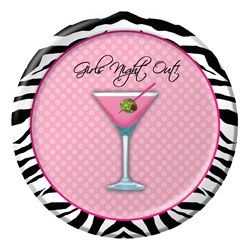 Girls Night Out Dessert Plates (8/pkg)