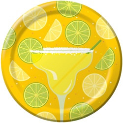 Margaritas and Beer Snack Plates (18/pkg)