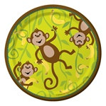 Monkeyin' Around Dessert Plates (8/pkg)