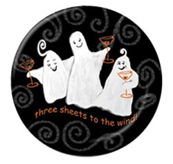 Three Sheets Dessert Plates (10/pkg)
