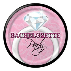 Bachelorette Party Dessert Plates (8/pkg)