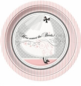 Elegant Wedding Lunch Plates (8/pkg)
