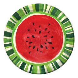 Watermelon Treat Luncheon Plates (8/pkg)