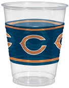 Chicago Bears Plastic Cups (25/pkg)