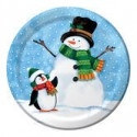 Penguin and Pal Lunch Plates (8/pkg)