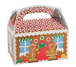 Gingerbread House Treat Boxes (12/pkg)