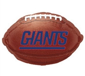 New York Giants Mylar Balloon