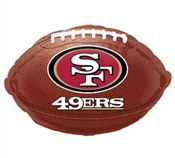 San Francisco 49ers Mylar Balloon