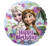 Frozen Happy Birthday Mylar Balloon