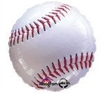 Baseball Mylar Balloon - 17 inch