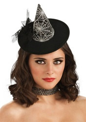 Mini Spiderweb Witch Hat