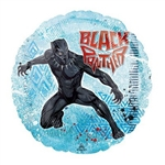 Set against a blue background, the Marvel character T'Challa is printed on both sides of this 17-inch foil balloon, along with the Black Panther name in red print. One balloon per package. Balloon ships flat. Fill with helium.
