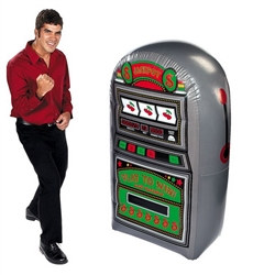 Inflatable Slot Machine